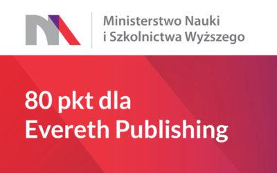 80 punktów MNiSW dla Evereth Publishing